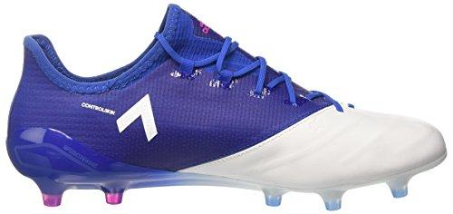 adidas Ace 17.1 Leather Fg, Botas de Fútbol para Hombre, Rot/Schwarz (Core Black/Ftwr White/Red) Azul (Blu Azul/rosimp/ftwbla)
