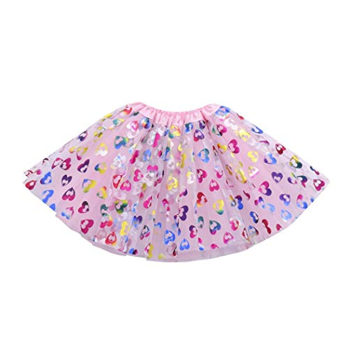 Halloween Kids Clothes Newborn Baby Girls Skirt Ballet Tutu Fancy Party Short Cartoon Print Skirts (C) ()