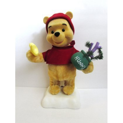 Winnie the Pooh Animated Christmas Display Figure by Disney (Winnie The Pooh Animated Christmas Display Figure)