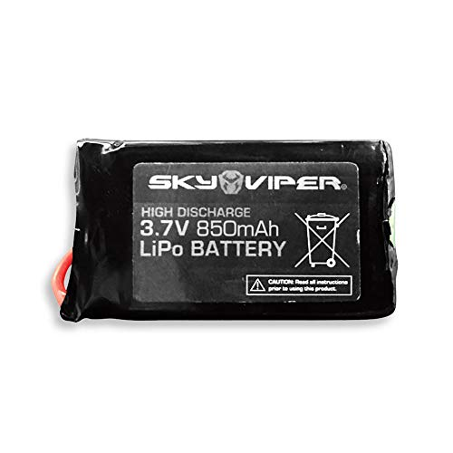 Skyrocket Extended Battery - Sky Viper Extended Flight Time 3.7V 850mAh Drone Rechargeable LiPo Extra Battery