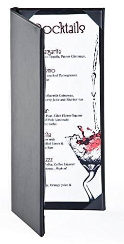 Set of 25, Wine List Covers for (2) 4.25