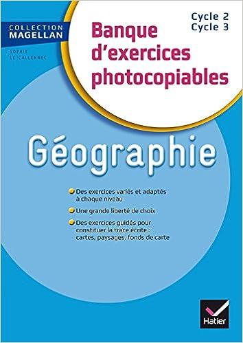 Book Magellan Géographie CE/CM Banque d'exercices éd. 2015 - Fichier photocopiable