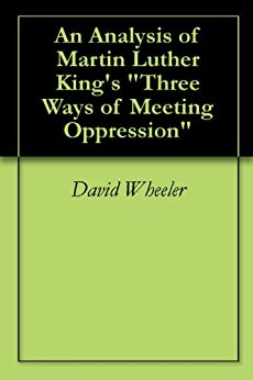 the ways of meeting oppression essay Read this essay and over 1,500,000 others like it now don't miss your chance to earn better grades and be a better writer.