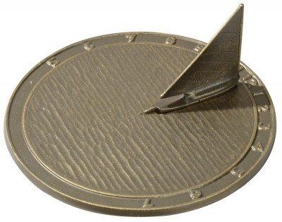 Whitehall Products Day Sailor Sundial, Oil Rub - Bronze Sundial