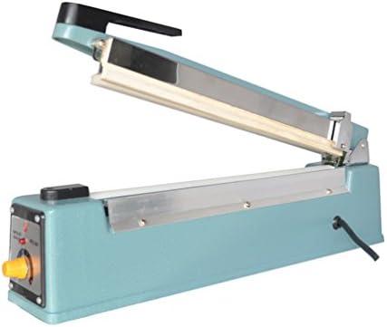 Impulse Maschinen Tasche Versiegelung mit Built in Cutter blau Maschine 400 mm 40,6 cm Dichtung