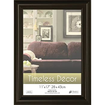 Amazon Timeless Frames 11x17 Inch Boca Picture Frame Black