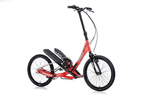 BRIZON Stepwing T3-3 Speeded Geared Stepper Bike, from (Red)
