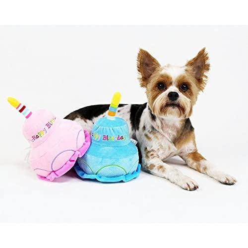 2 Layer Birthday Cake Dog Toy By Midlee Good