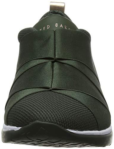 Femme Vert Green Baskets Baker Grn Ted Enfiler Queanem qXxfInwa