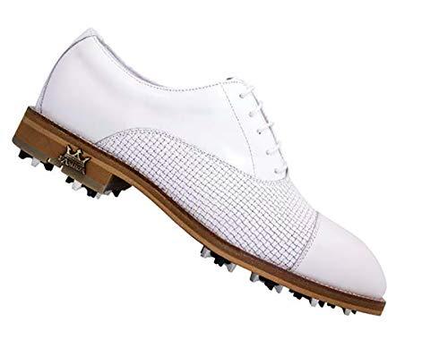 LAMBDA GOLF Shoes Man MOD. Roma COL. White (44)
