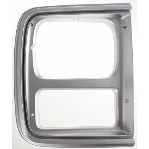 - Diften 630-A0060-X01 - New Set of 2 Head light Headlight Doors Headlamp Bezels Left & Right Side Pair