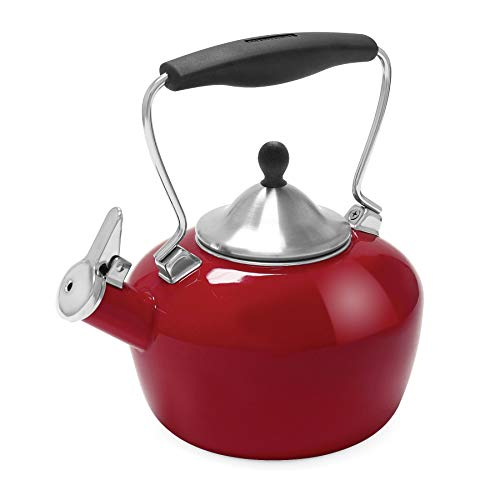 Chantal 37-CAT RA Catherine Teakettle Tea Kettle, 1.8 Qt, Apple ()