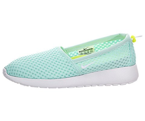 7d6c5bfb73 Nike Women s Roshe One Slip Artisan Teal White Volt Loafers   Slip-Ons Shoe  8.5 Women US - Buy Online in Oman.