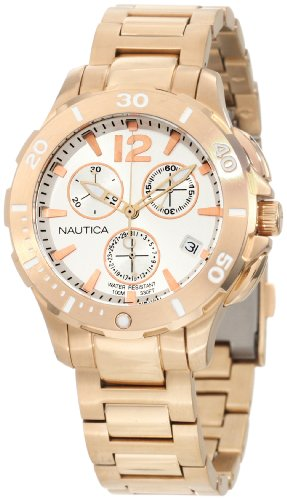 Nautica Men s N24530M BFD 101 Dive Style Chrono Midsize Watch