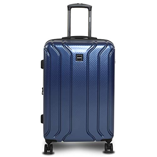 AGARO Saturn Hard-Sided ABS & Polycarbonate Cabin Luggage/Trolley Bag (20 Inch / 50 cm) Blue