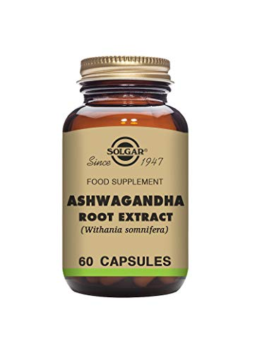 Solgar Ashwagandha Root Extract Vegetable Capsules, Pack of 60