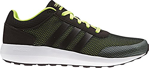 adidas Cloud Foam Race – cblack/cblack/syello