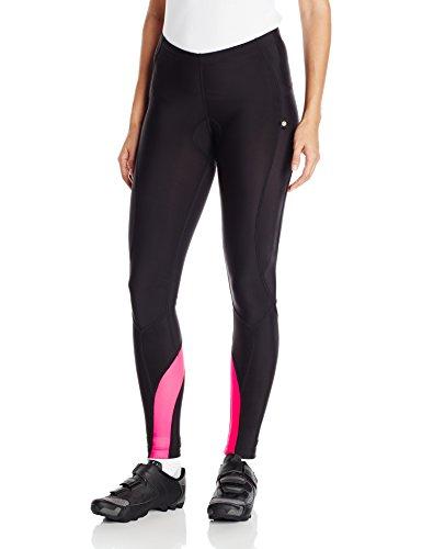 Canari Women's Optic Nova Cycle Tights, Hot Pink, (Fiber Optic Lily)