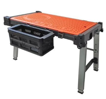 Portable Workbench - Dura 4-in-1 Multipurpose Durable Heavy Duty Workbench Features All in One Portable and Easily Storable Unit