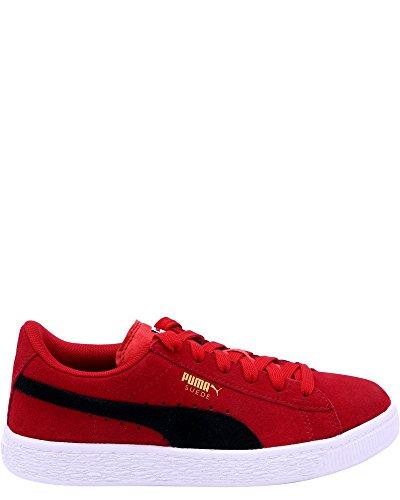 PUMA Kids' Suede Sneaker,Toreador Black,2 M US Little Kid