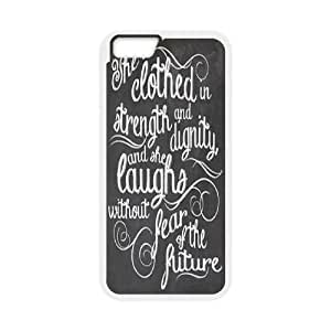 """Personalized New Print Case for Iphone6 Plus 5.5"""", She is clothed with strength Phone Case - HL-520933"""