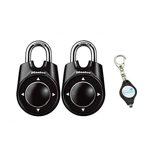 Master Lock 1500ID Padlock, Set Your Own Speed Dial Combinat
