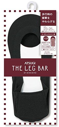 [アツギ] ATSUGI THE LER BAR(アツギザレッグバー) かかとクッション付 フットカバー 綿混 〈2足組〉 レディース VLC6084