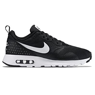 Nike Mens Air Max Tavas Gym Lightweight Running Walking Sports Sneakers -  Black/White/