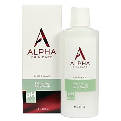 Alpha Skin Care Refreshing Face Wash,
