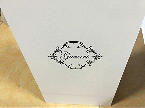 Gurari exklusive weiße designer dunstabzugshaube cm eek a