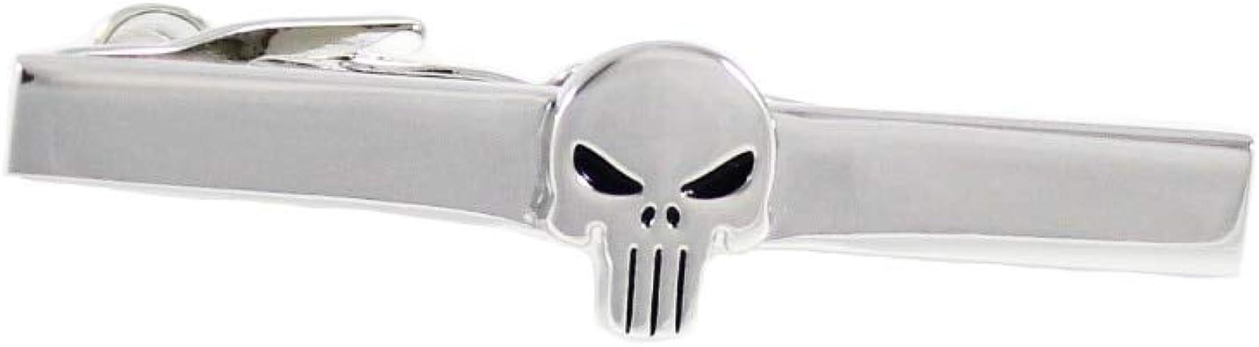 AFHT Símbolo Clip de Corbata Carácter cómico Símbolo Calavera ...