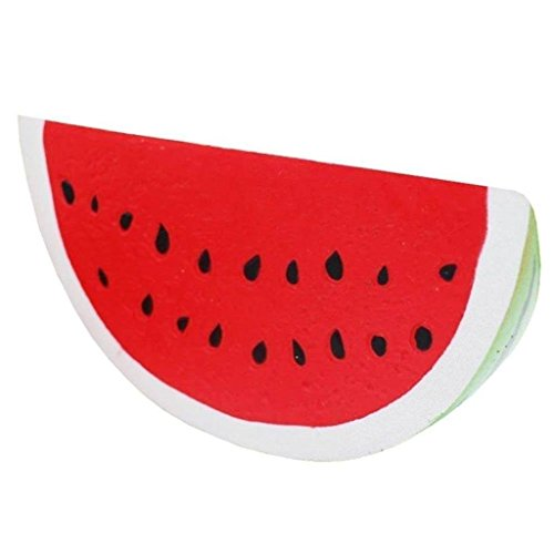 Jumbo Slow Rising Squishies Charms Kawaii Squishies Cream Scented Toys For Kids and Adults (Watermelon)