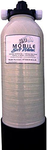(Portable 'Mobile-Soft-Water' Water Softener 6,400 Grain Capacity Manual Regeneration)