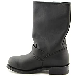Xelement 1440 Classic Mens Black Engineer Boots - 14.0 EE