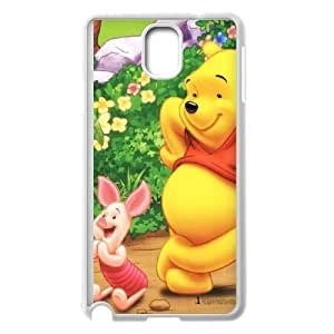 Winnie-The-Pooh Samsung Galaxy Note 3 Cell Phone Case White CVXEYERTE37282 Customized Cell Phone Case