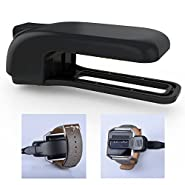 Fitian Fitbit Blaze Charger,Fitbit Blaze Charging Stand Accessories,Fitbit Blaze Replacement Charging Clip Charger Charging Dock Station Cradle Holder for Fitbit Blaze Smart Fitness Watch