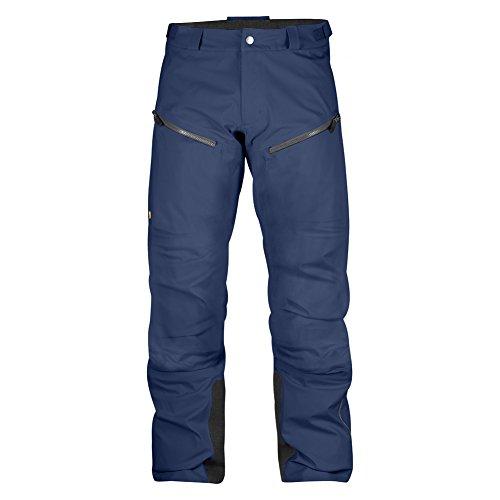 Fjallraven Mens Bergtagen Eco Shell Trousers  Mountain Blue  52