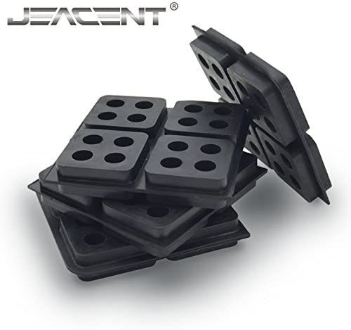 Anti Vibration Pads Rubber Vibration Isolation 4 Pack Jeacent Innovations