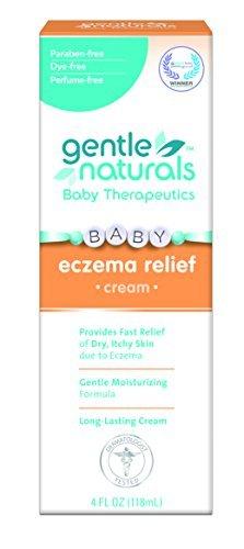 Gentle Naturals Eczema Cream, 4 Ounce by Gentle Naturals