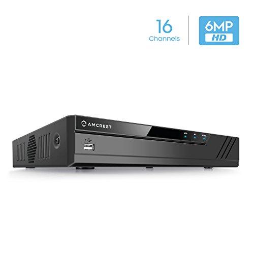 Amcrest NV2116 16CH NVR (1080P/3MP/4MP/5MP/6MP) Network Video