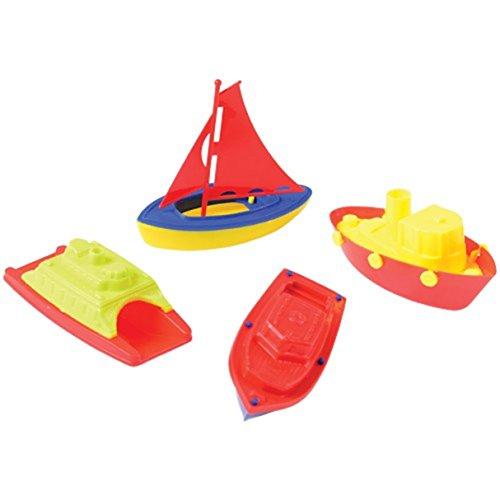 Set Of 4 Sailboat And Boat Bath