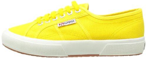 Superga 2750 Cotu Classic S000010, Zapatillas Unisex Adulto Amarillo (Gelb Sunflower)
