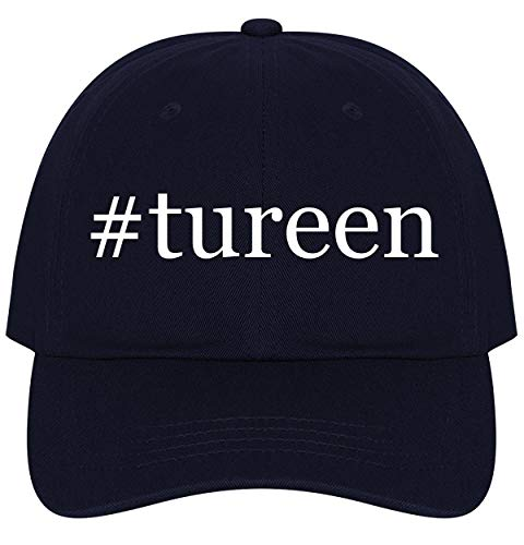 The Town Butler #Tureen - A Nice Comfortable Adjustable Hashtag Dad Hat Cap, Navy