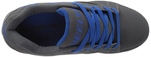 Heelys Mens Propel 2.0 Fashion Sneaker Gray / Royal