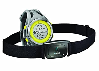 SYNC Women's GPS + Heart Rate To Sync With MapMyRun App and Transmit Pace, Speed, and Distance