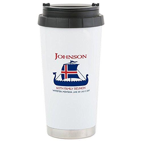 Tumbler Travel Oz 16 Johnson (CafePress - Johnson Family Re 16 Oz - Stainless Steel Travel Mug, Insulated 16 oz. Coffee Tumbler)
