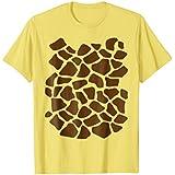 Giraffe Print Shirt, Simple Halloween Costume Idea Gift
