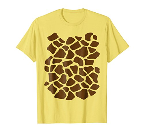 Giraffe Print Shirt, Simple Halloween Costume Idea Gift ()