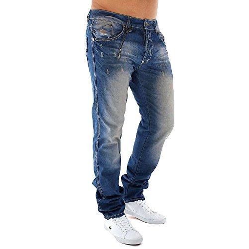 Men's Jeans Slim Fit Diego ID1098 (Straight Leg)