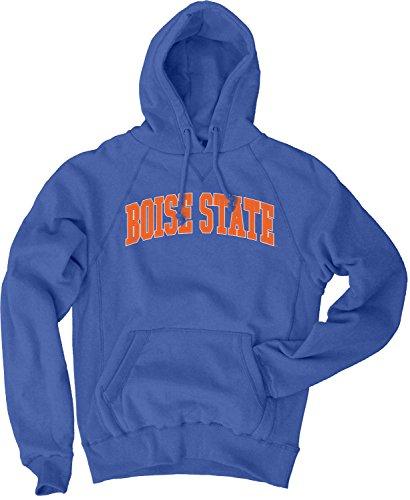 - NCAA Boise State Broncos Men's Sanded Fleece Pullover Hoodie, Vintage/Faded Royal, X-Large